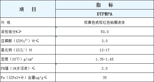 DTPMPA,DETPMP,二乙烯三胺五甲叉膦酸,DTPMP,二乙烯三胺五亚甲基膦酸 DTPMPA,DTPMP钠盐 DTPMP·Na5,DTPMP·Na7,DTPMP·Nax
